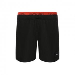 Плавки-шорты Calvin Klein. Цвет: чёрный