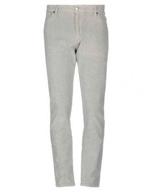 Повседневные брюки GAUDÌ. Цвет: светло-серый