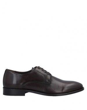 Обувь на шнурках CAFèNOIR. Цвет: темно-коричневый