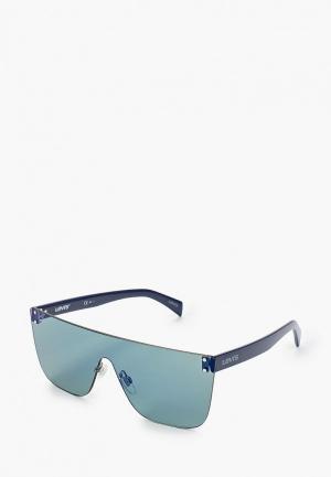 Очки солнцезащитные Levis® Levi's® LV 1001/S 1ED. Цвет: синий