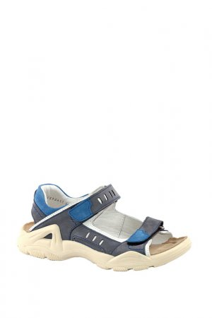 Туфли летние ELEGAMI. Цвет: темно-серый