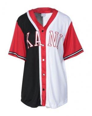 Pубашка KARL KANI. Цвет: красный