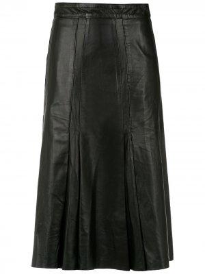 Pleated skirt Clé. Цвет: черный