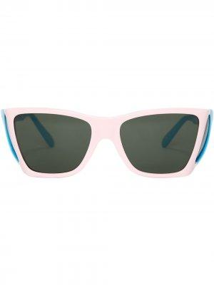 Солнцезащитные очки JW Anderson. Цвет: розовый