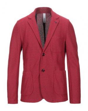 Пиджак DISTRETTO 12. Цвет: кирпично-красный