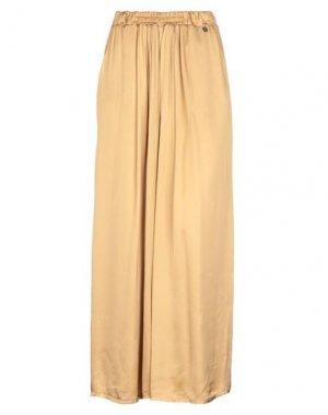 Длинная юбка BSB. Цвет: охра
