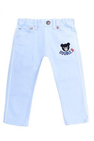 Летние брюки для мальчика MIKI HOUSE. Цвет: голубой