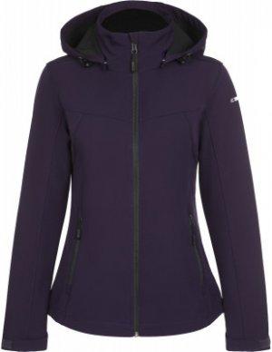 Куртка софтшелл женская Boise, размер 42 IcePeak. Цвет: фиолетовый