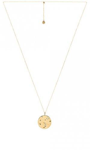 Ожерелье luna gorjana. Цвет: металлический золотой