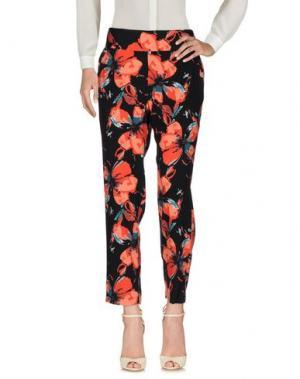 Повседневные брюки ELLA MOSS. Цвет: черный
