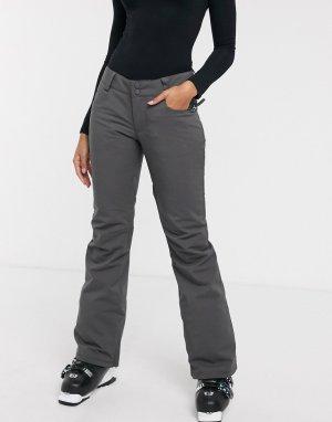 Темно-серые горнолыжные брюки -Серый Billabong