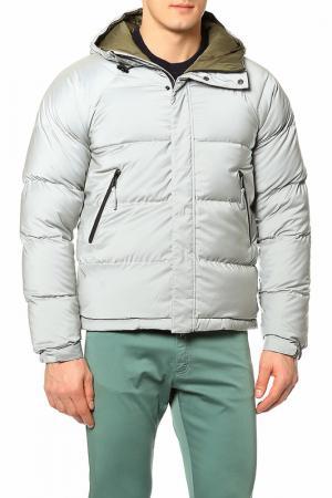 Куртка ASPESI. Цвет: серый