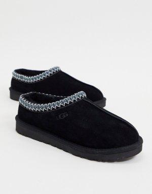 Черные слиперы tasman-Черный цвет UGG
