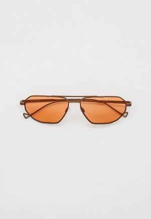 Очки солнцезащитные Emporio Armani EA2113 300674. Цвет: коричневый