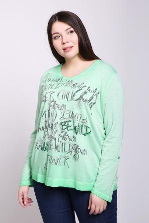 Пуловер Via Appia. Цвет: зелёный