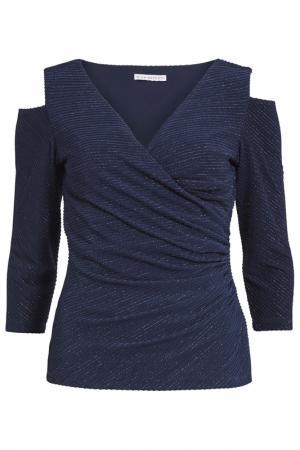 Блуза Gina Bacconi. Цвет: синий