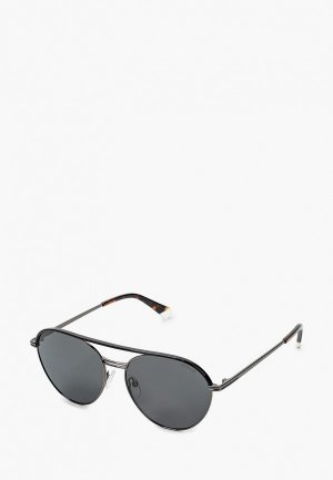Очки солнцезащитные Polaroid PLD 2107/S/X KJ1. Цвет: черный