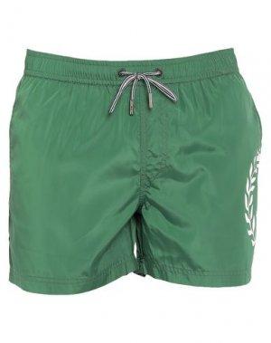Шорты для плавания HENRI LLOYD. Цвет: зеленый