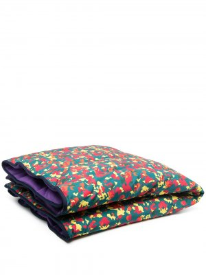 Дутое одеяло с камуфляжным принтом Billionaire Boys Club. Цвет: зеленый