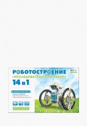Конструктор ND Play Роботостроение 14 в 1. Цвет: серый