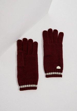 Перчатки Twinset Milano TRAVEL. Цвет: бордовый