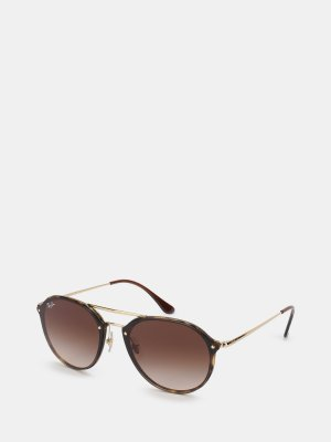 Солнцезащитные очки Ray-Ban. Цвет: korichnevyy
