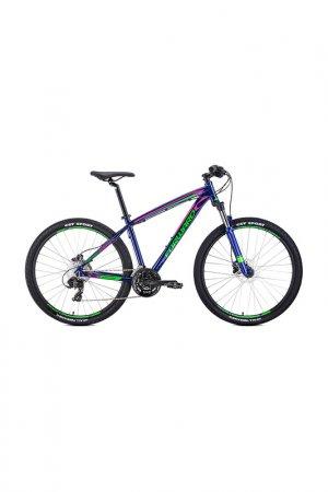 Велосипед NEXT 27,5 3.0 disc Forward. Цвет: темно-фиолетовый, светло-зелен