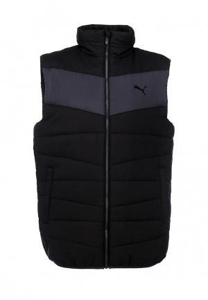Жилет Puma ESS Padded Vest M black-periscope. Цвет: черный