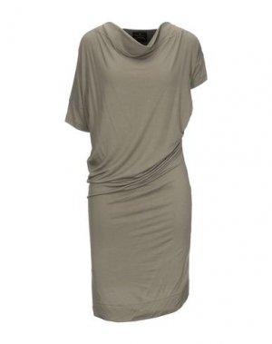 Короткое платье VIVIENNE WESTWOOD ANGLOMANIA. Цвет: зеленый-милитари