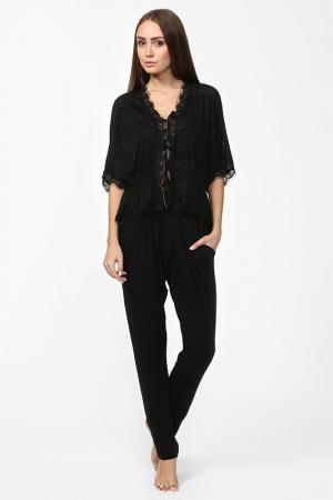 Пижама Balancelle. Цвет: черный