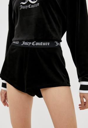 Шорты домашние Juicy Couture. Цвет: черный