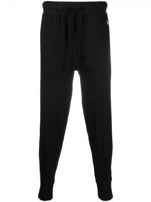 Спортивные брюки с вышитым логотипом Polo Ralph Lauren. Цвет: черный
