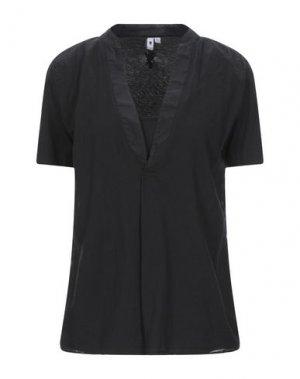 Блузка EUROPEAN CULTURE. Цвет: черный
