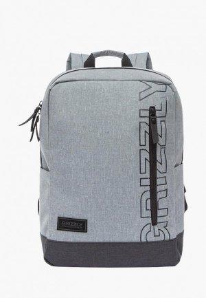 Рюкзак Grizzly. Цвет: серый