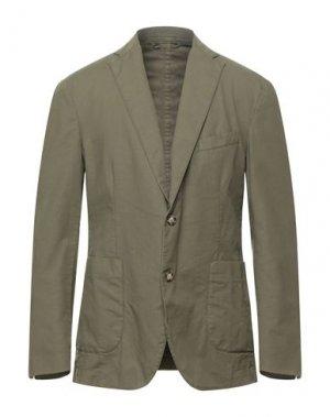 Пиджак BROOKSFIELD. Цвет: зеленый-милитари