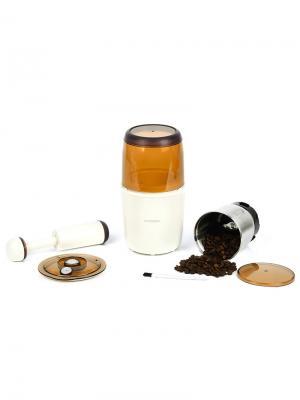 Кофемолка-мультимолка OURSSON. Цвет: молочный
