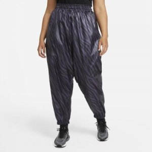 Женские брюки Nike Sportswear Icon Clash (большие размеры) - Пурпурный