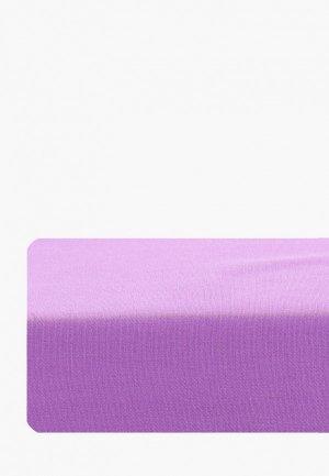Простыня детская Dream Time 140х200 см. Цвет: фиолетовый