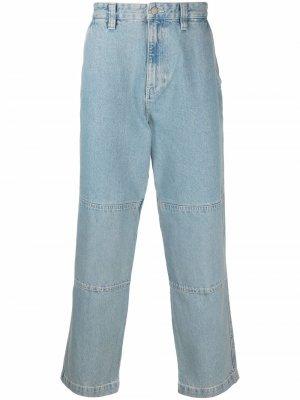 Широкие джинсы Stussy. Цвет: синий