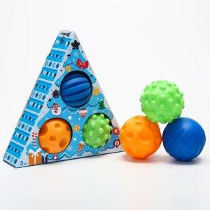 Подарочный набор развивающих мячиков Крошка Я