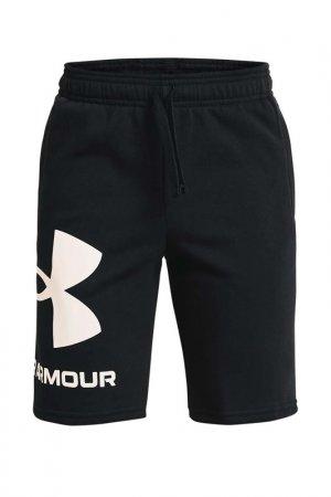 Шорты Ua Rival Fleece Logo Under Armour. Цвет: черный