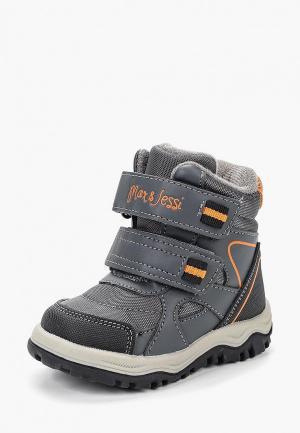 Ботинки Max & Jessi. Цвет: серый