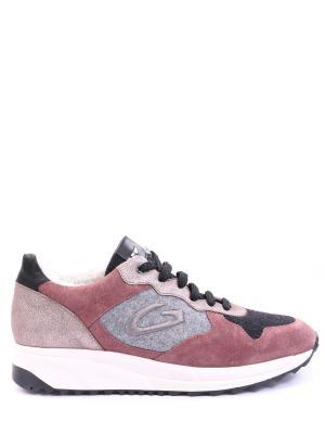 Комбинированные кроссовки Alberto Guardiani. Цвет: разноцветный