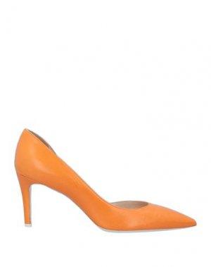 Туфли DEIMILLE. Цвет: оранжевый
