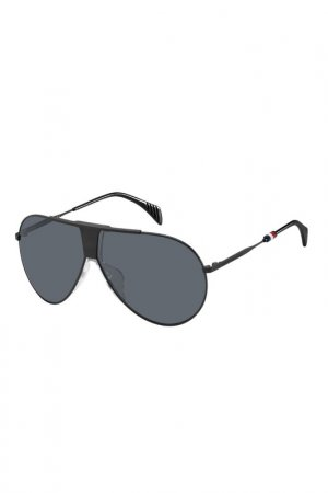 Солнцезащитные очки Tommy Hilfiger. Цвет: черный