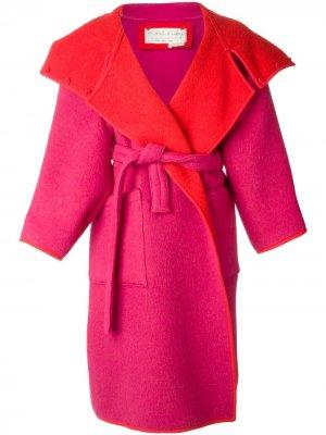 Двухстороннее пальто свободного кроя JC de Castelbajac Pre-Owned. Цвет: красный