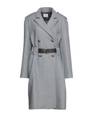 Пальто DIXIE. Цвет: свинцово-серый