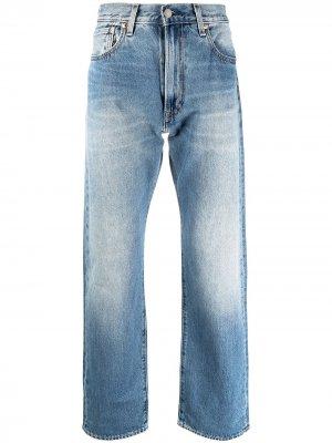 Levis широкие джинсы Levi's. Цвет: синий