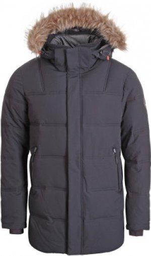 Куртка утепленная мужская Bixby, размер 54 IcePeak. Цвет: черный