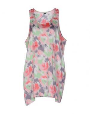 Короткое платье CHEAP MONDAY. Цвет: розовый